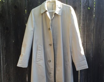Vintage London Fog Trench, Size M