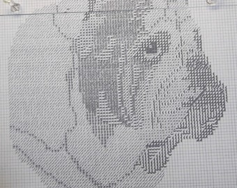 English Bulldog Dog Pattern