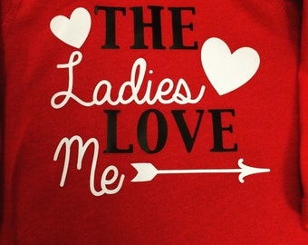 Ladies Love Me Longsleeve Onesie