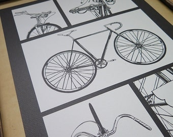Velo, Bicycle Print