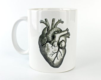 Anatomical Heart - 11 oz Coffee Mug