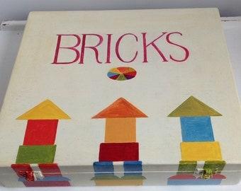 Children's Bumper, Bright, Box Of Building Bricks