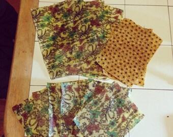 Homemade Beeswax Cloths