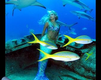Hannah Mermaid Poster