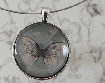 Butterfly necklace Butterfly Jewelry Butterfly Pendant