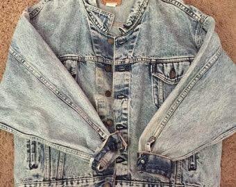 Vintage Levi Acid Wash Denim Jacket