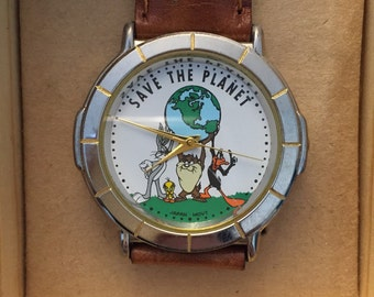 Warner Brothers SAVE THE PLANET Watch
