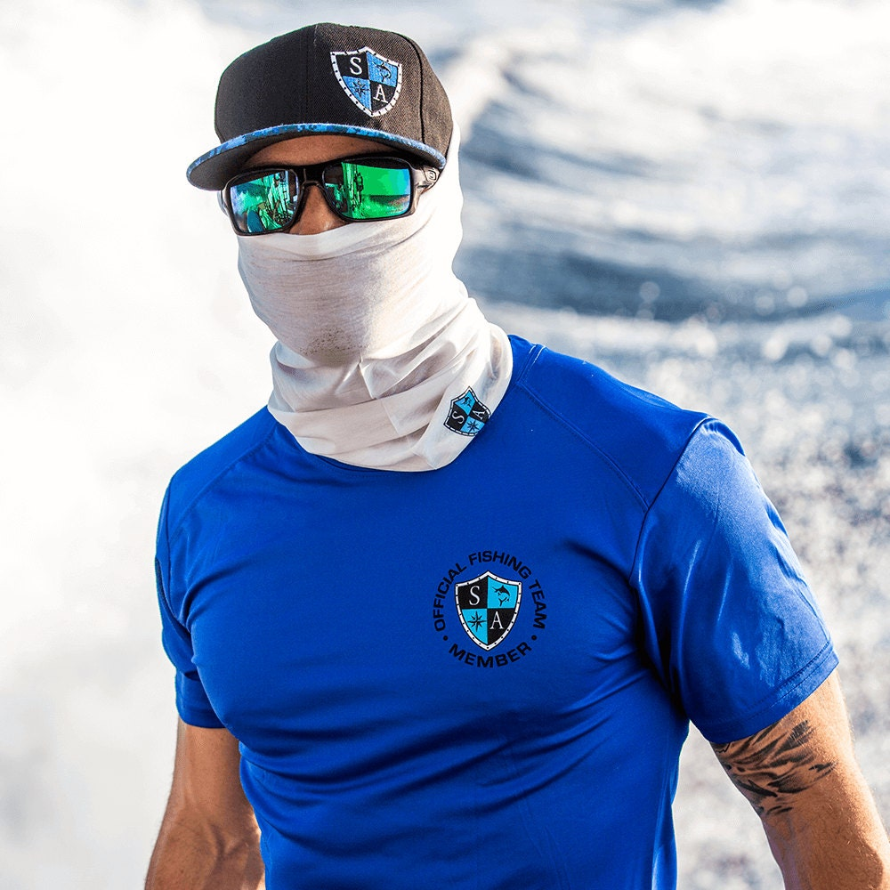 Multi use face shieldtactical white for Sa fishing face shield review