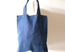 Ta-Su (たす) Japanese pattern Tote bag. Market bag .Shopping bag. Reusable shopping bag.Printed on Cotton 100%.
