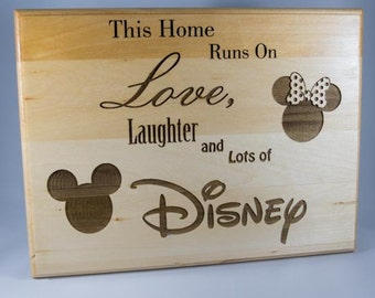 This Home Runs on Love, Laughter, and Lots of Disney