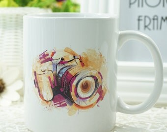 "Photographer ""Camera"" Coffee Mug"