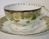 Antique Rosenthal Cup and Saucer Bavaria