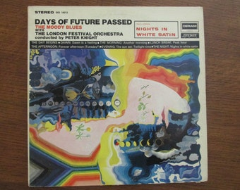 The Moody Blues - Days of Future Passed - 1967 Vinyl LP