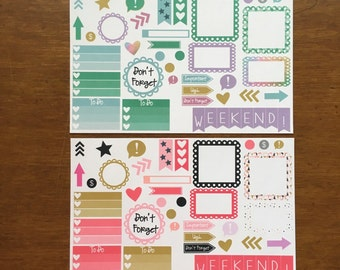 Attention call out functional reminder erin condren life planner ECLP Mambi Inkwell Press Filofax Kikki K Happy Life