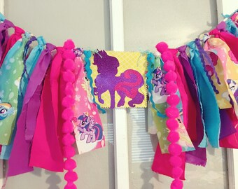 My Little Pony High Chair/Wall Banner