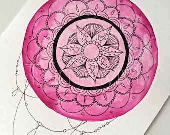 Mandala Customised Art ORIGINAL