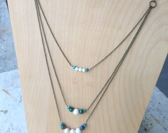 3-Tiered Necklace of Clarity