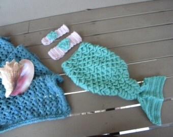 Baby Mermaid Costume