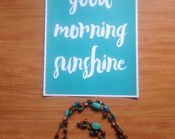 Good Morning Sunshine Print