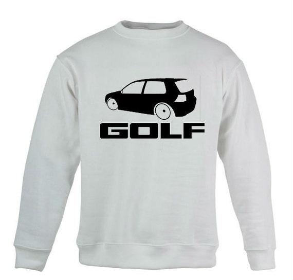 vw volkswagen golf custom sweatshirt   customclothesfp
