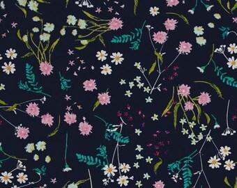 Art Gallery Fabrics Lavish Blossom Swale Depth Fat Quarter
