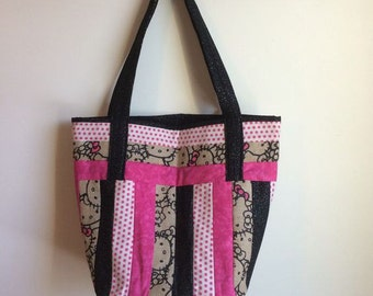 quilted hello kitty bag