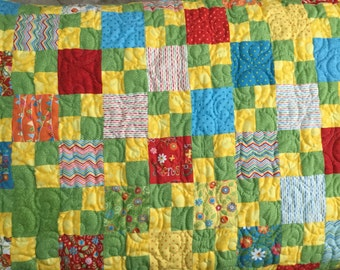 Fun and flirty Baby Quilt