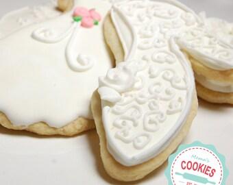 Bridal Shower Cookies  Item# 1005