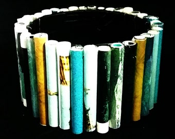 Recycled Duct Tape Magazine Bracelet
