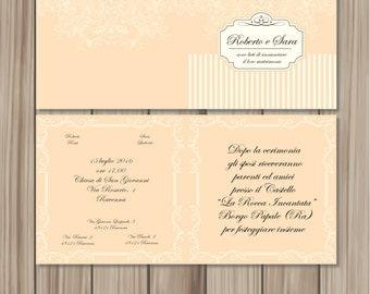 Chic Wedding Invitation