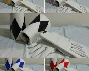 Power Rangers gloves and bracers