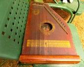 Antique Mandolin Guitar Harp Zither, Vintage Hawaiian Mandolin Harp by AR Yendrick, Mandolin Harp