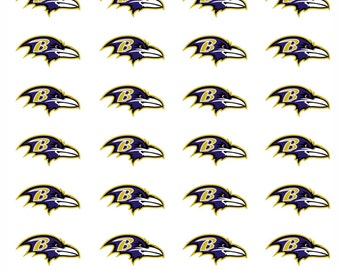28 Baltimore Ravens Football Stickers