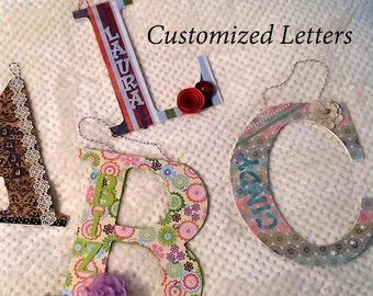 Custom Wall Letters
