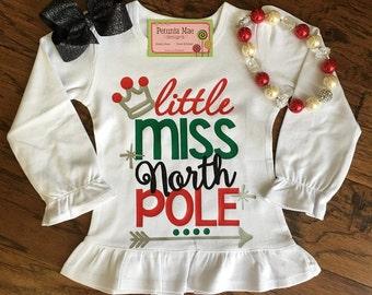 Little Miss North Pole Shirt