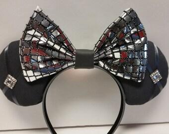 Sparkle & Shine Grey Mickey Ears