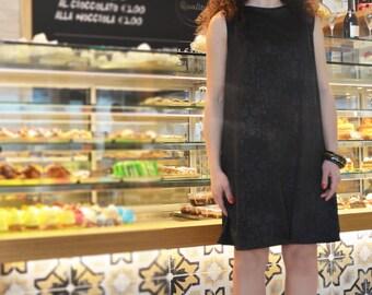 Black dress, little black dress, dress, short dress, damask gown, evening dress, prom dress, cocktail dress, party dress .60