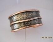 Heavy Copper Cuff Bracelet