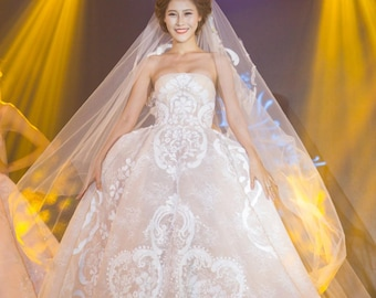 Elie Saab Wedding Dress Inspired