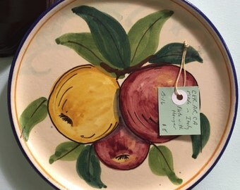 CER.AR.CA Made in Italy Fruit Plates For Wall Decor/Serving