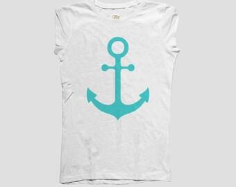 Tshirt Nautical Anchor  Style