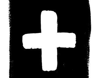 Cross Print