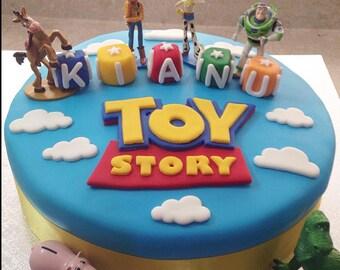 Fondant Toy Story Cake Topper Decoration