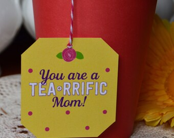 mothers day party favor-baby shower favor-mom-tea party-tea time-tea-garden party