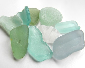 Irregular Sea Glass Pieces for Display, Crafts or Jewellery