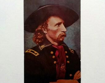 General Custer Postcard