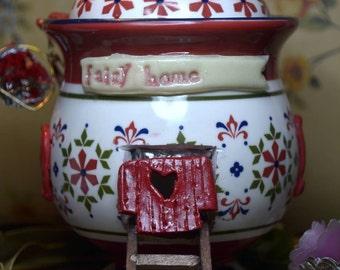 Sugar Pot Fairy Home