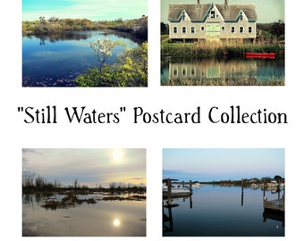Still Waters Postcards ~ Set of 4