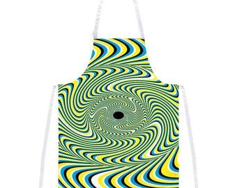 Optical Illusion Apron