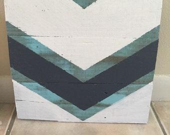 Custom Made Chevron Wall Decor